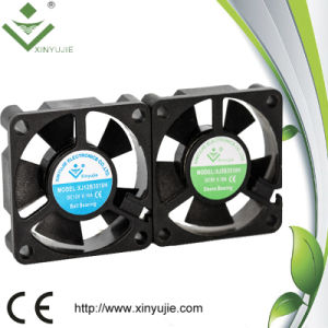 Ventilador de enfriamiento del radiador del pequeño de la C.C. del ventilador de aire ventilador industrial sin cepillo del refrigerador