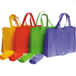 cadeau de promotion de la publicité bon marché de gros sacs Non-Woven Eco Livraison rapide