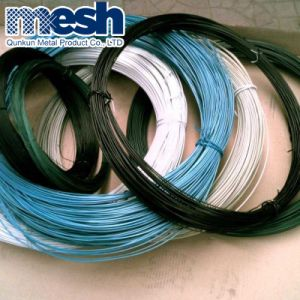 A alta qualidade e a baixo preço de arame de ferro revestida de PVC