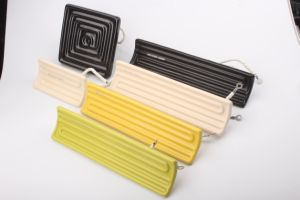 Elemento riscaldante di ceramica a forma di del riscaldatore di comitato dell'arco elettrico