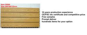 環境に優しいWPCのDeckingのタイルかバルコニーおよび庭の防水木製のプラスチック合成のデッキのタイル