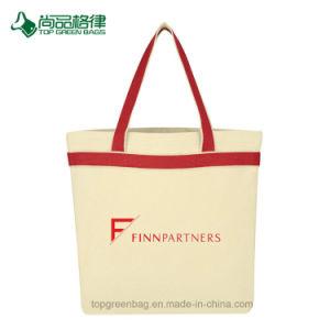 Haltbare Großhandelsökonomische passen tragenden Griff-Segeltuch-Einkaufentote-Beutel an