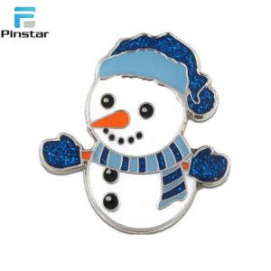 좋은 단단한 사기질 크리스마스 반짝임 기장 Pin