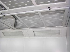Verwendetes Auto-Lack-Stand-Wasser-Vorhang-kleiner Lack-Stand