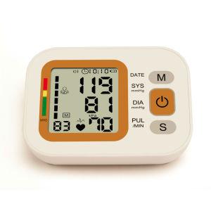 Medidor de presión de sangre del brazo con batería recargable de litio (WP871)