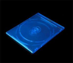 7mm de Doble Rayo azul caja del DVD Blue Ray caso Blue Ray tapa DVD Caja DVD Blue Ray