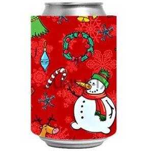El titular de promoción de BEBIDAS La cerveza puede Stubby Regalo de Navidad del refrigerador (BC0041)