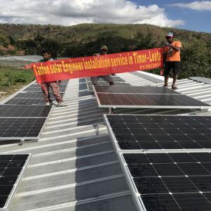 태양 에너지 시스템이 3kw에 의하여 집으로 돌아온다