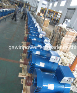 Elektrizitäts-Generator, 15kw Super-FUJI STC-Dreiphasendrehstromgenerator mit 100% dem reinen kupfernen Draht