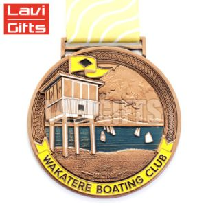 Venta caliente Deporte Medalla Kettlebell personalizados baratos