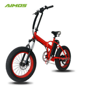 20*4.0 Neumático Fat Ebike plegable 36V 350W