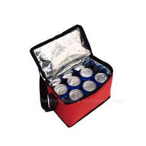 Isolation thermique de la bière réutilisables pliable déjeuner sac du refroidisseur