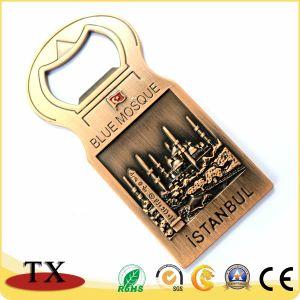 Andenken-antiker Magnet-Schlüsselketten mit Flaschen-Öffner