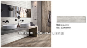 De houten Tegel van de Vloer van het Porselein van de Tegel van de Plank voor de Decoratie van de Vloer