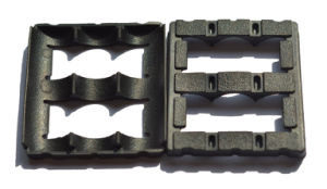 ゴム製製品のシールEPDMの黒い衝撃吸収材のダンパーの耐久力のある小さい機械装置