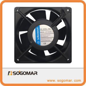 120x120x38mm 4 pouces de 220-240 V AC Ventilateur axial panneau DC pour le refroidissement de ventilation