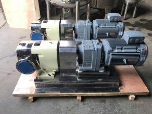 Les mesures sanitaires de boissons de la pompe rotative à bossage de came de la pompe de miel de la pompe du rotor