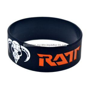 Heet Verkopend 1 ratt Armband van het Silicone van de Band van het Metaal van het Haar '' voor Overleg