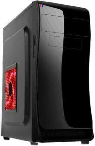 Computer-Kasten-Spiel-Spiegel-Typ roter abkühlender Schreibtisch ATX
