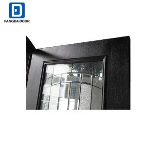 Portello della vetroresina di vetro esecutiva esterna di Fangda singolo con i Sidelights