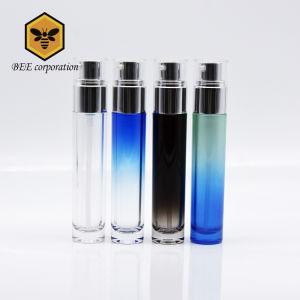 De ronde Kosmetische Fles van het Glas van de Fles Verpakkende voor Lotion (miljard-F-60)