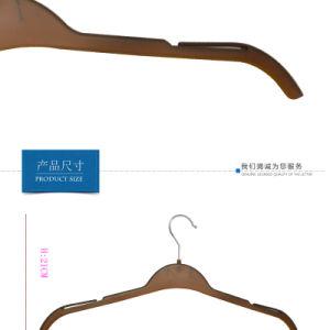 Großverkauf kundenspezifische Kleid-Plastikhemd-Kleidung-Aufhängungen