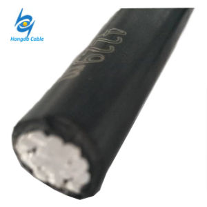 Cavo isolato XLPE/PE isolato di alluminio del cavo 1*95