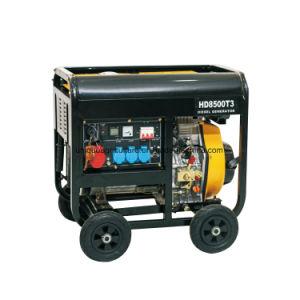 De Diesel van het open-kader Reeks van de Generator
