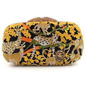 [إفنينغ بغ لدي] [كلوتش بغ] إمرأة أكريليكيّ حقيبة يد سيّدة رفاهيّة [رهينستون] حقيبة [إب963]