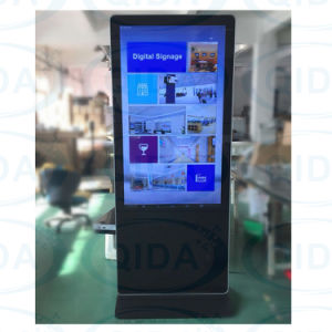 Airportのための極度のSlim Self Service Touch Screen Inquiry Kiosk