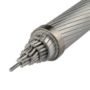 Il conduttore di alluminio del cavo elettrico, l'acciaio ha rinforzato ACSR