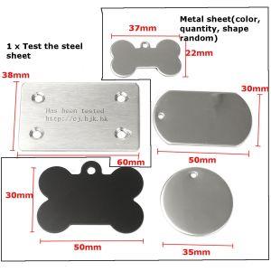 10Wレーザー、12V 4Aレーザーの彫版機械/stainlessの鋼鉄彫り師キット/レーザーの彫版プリンター