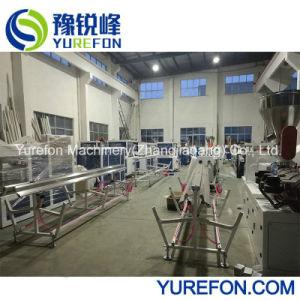 La extrusora doble tornillo cónico para la línea de producción de tubería de PVC
