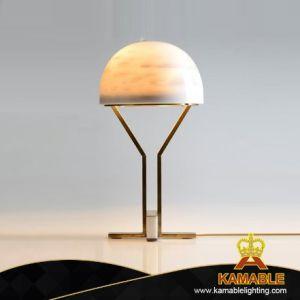 Corpo em aço de decoração do Hemisfério concisa Iluminação de mesa (KJ017)