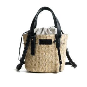 Китайский пляж брелоки из дамской сумочке Crossbody подарок мешок для соломы