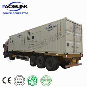 1000 ква премьер-номинальной США Cummins 20'hq звукоизолирующие генераторная установка дизельного двигателя с помощью встроенной глушитель