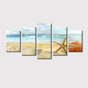 Het Olieverfschilderij van de Groep van het Af:drukken van Giclee van het zeegezicht voor het Decor van de Muur