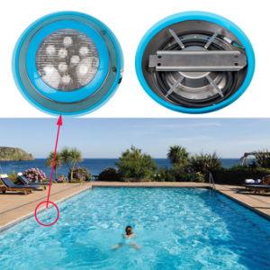 Indicatore luminoso subacqueo fissato al muro di piccola dimensione di controllo 9W LED di RGB DMX512, indicatore luminoso del raggruppamento