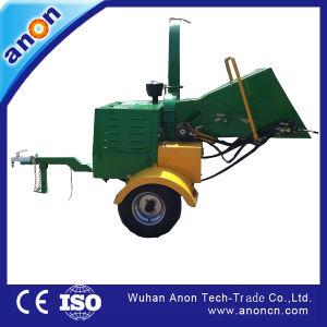 そのうち中国の安い価格18HPディーゼル力のHydrauicの挿入の木製の快活なシュレッダー機械