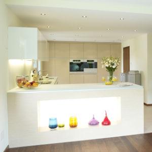 De naar maat gemaakte L-vormige Modulaire Ontwerpen van de Keuken