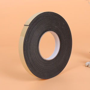 De hittebestendige Correcte Band van de Isolatie van het Schuim van het Kussen NBR/PVC van de Absorptie Zelfklevende Rubber