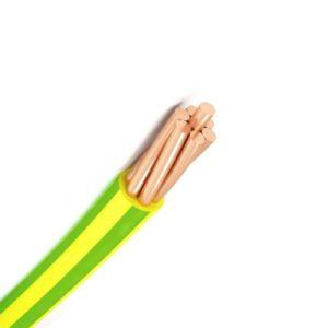 Núcleo de eléctricos de cobre PVC a isolar o fio eléctrico para uso doméstico