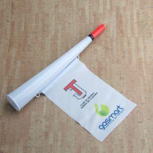 De aangepaste Plastic Hoorn van Vuvuzela van de Ventilators van Sporten voor Bevordering (km-001)