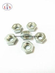 Écrou hexagonal en acier au carbone avec une haute qualité