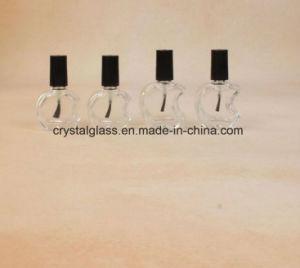 Apple-Form-Glasnagellack-Flasche