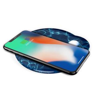 2018 Venta caliente Qi rápido Universal cargador inalámbrico receptor para el iPhone x