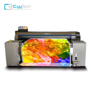 Tela di canapa diretta Printe della stampatrice dell'indumento 100%Cotton del RO della tessile di marca della cinghia di serie di Ajet-1600z della stampante del tessuto della tessile del tracciatore diretto di nylon di stampa