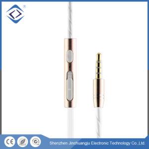 マルチカラー3.5mmは耳の携帯電話のイヤホーンのステレオをワイヤーで縛った