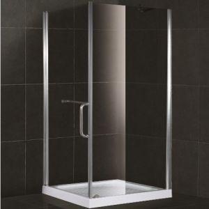 Allegato quadrato dell'acquazzone di vetro Tempered di modo (SR905)