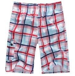 Nuovi pantaloni 100% della spiaggia di modo del poliestere degli uomini (LOG-11L)